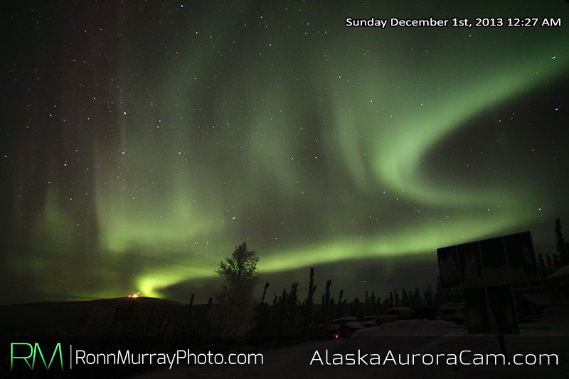 A Great Start! - Dec 1st, Alaska Aurora Cam