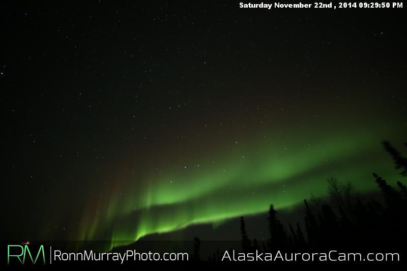 November 22nd - Alaska Aurora Cam