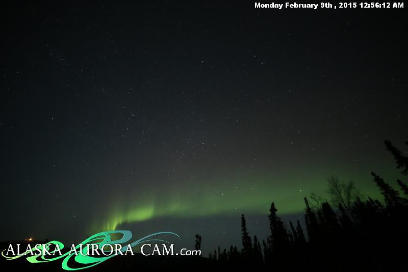 February 8th - Alaska Aurora Cam