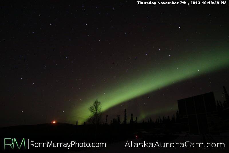 Early Bird Special - Nov 8th, Alaska Aurora Cam