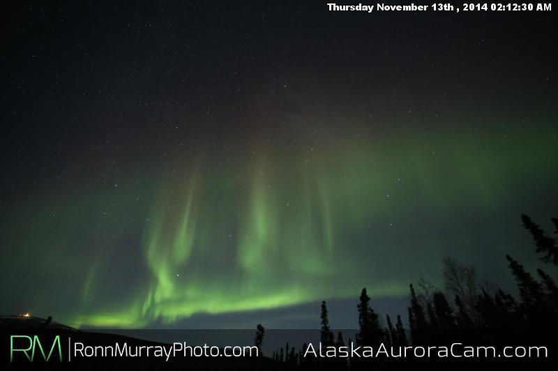 November 12th - Alaska Aurora Cam