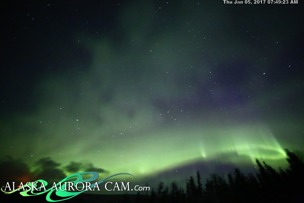 January 4th  - Alaska Aurora Cam