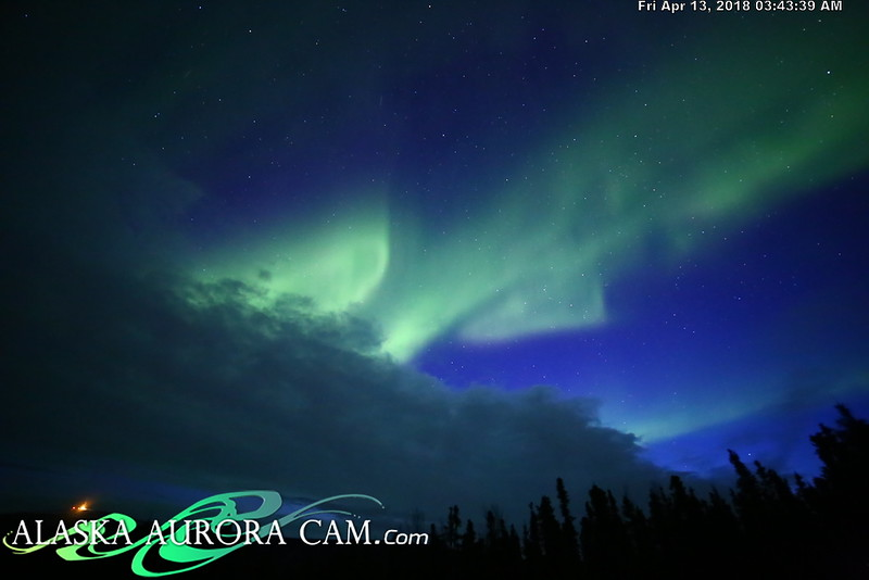 April  12th  - Alaska Aurora Cam