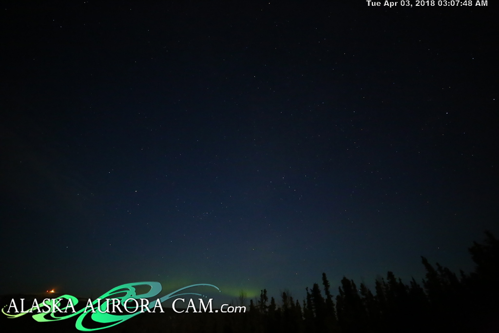 April  2nd  - Alaska Aurora Cam