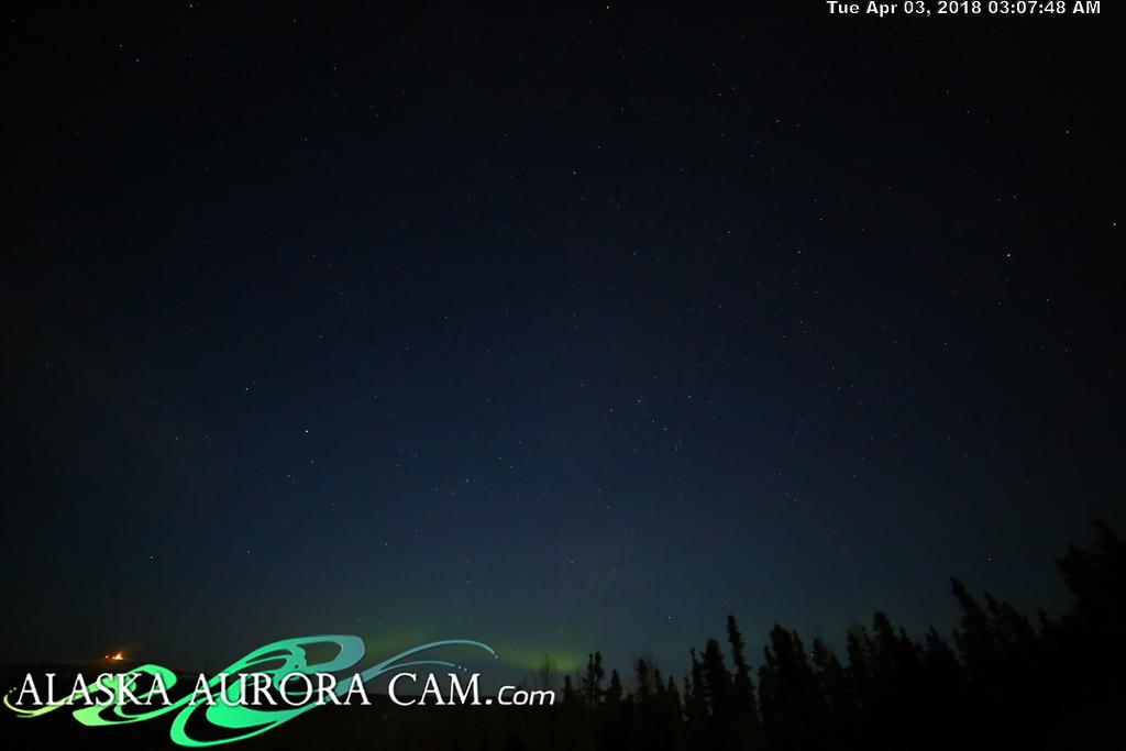 April  2nd  - Alaska Aurora Cam
