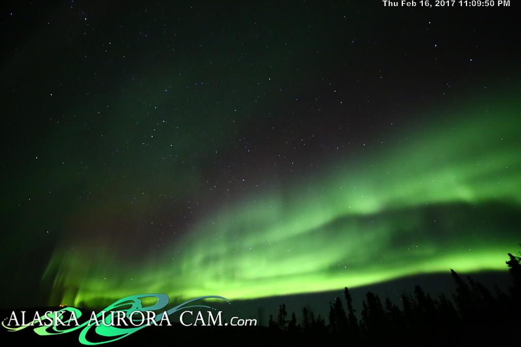 February 16th  - Alaska Aurora Cam