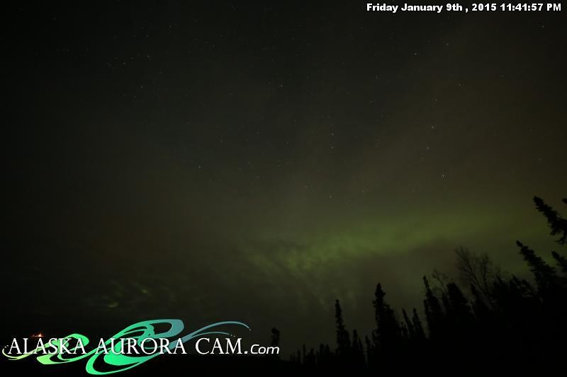 January 9th - Alaska Aurora Cam
