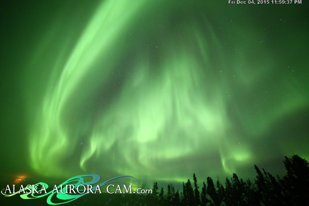 December 4th - Alaska Aurora Cam