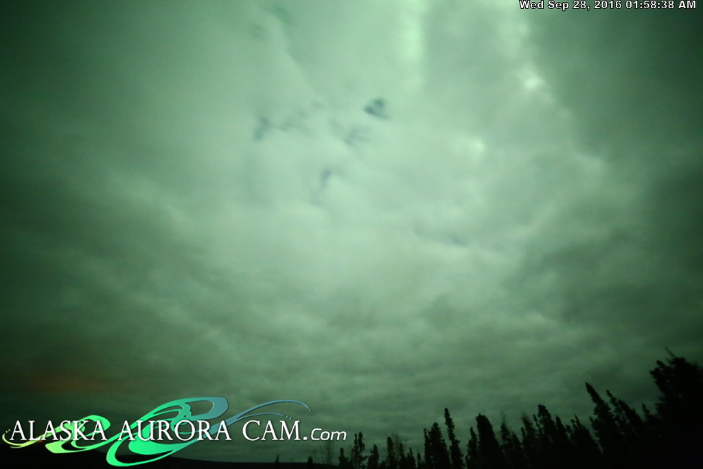 September 27th - Alaska Aurora Cam