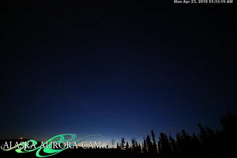 April  22nd  - Alaska Aurora Cam