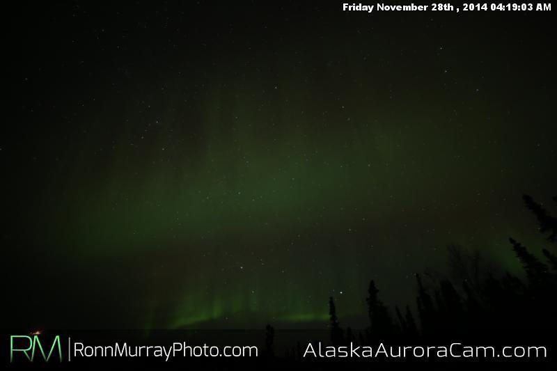 November 27th - Alaska Aurora Cam
