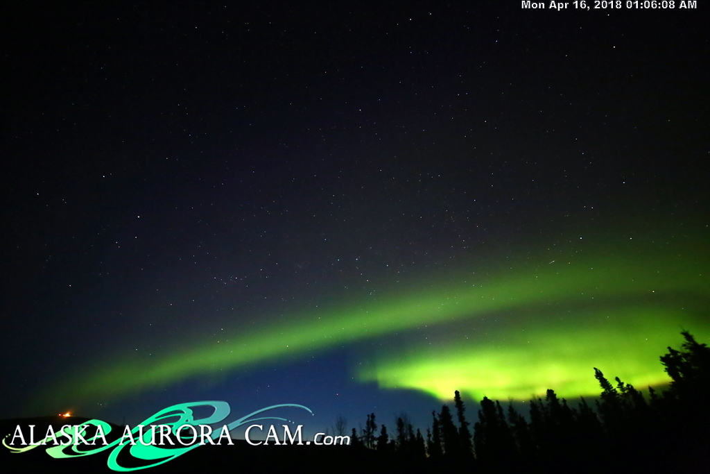 April  15th  - Alaska Aurora Cam