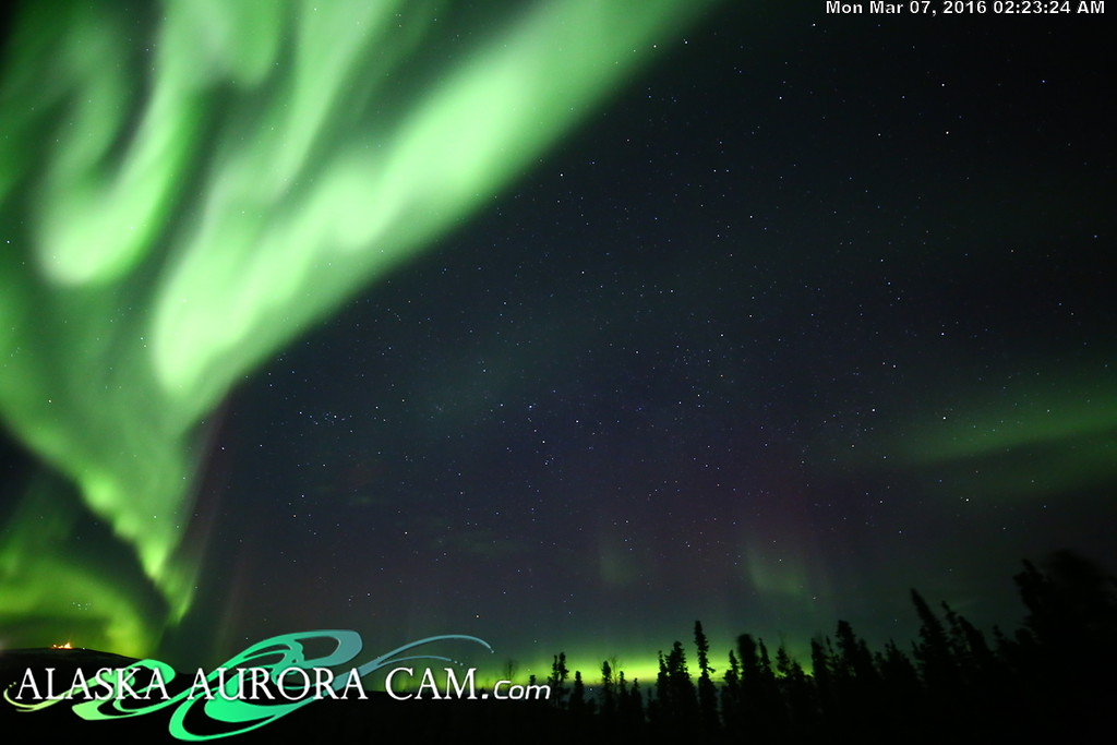 March 6th - Alaska Aurora Cam