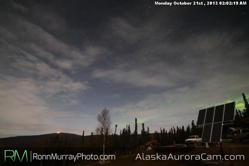 A Slight Dance - Oct. 21st, Alaska Aurora Cam