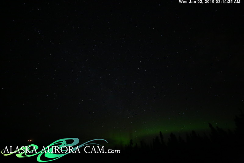 January 1st- Alaska Aurora Cam