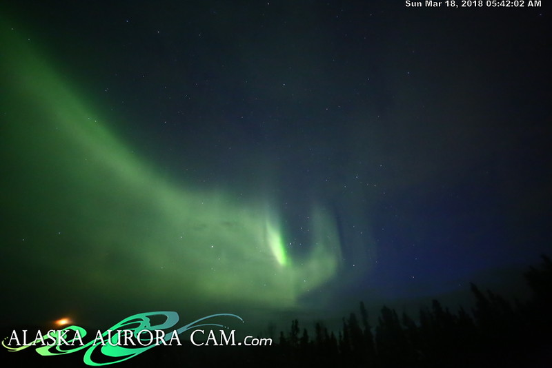 March 17th  - Alaska Aurora Cam
