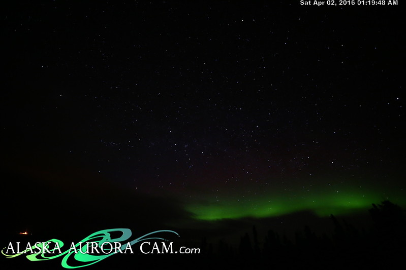 April 1st - Alaska Aurora Cam