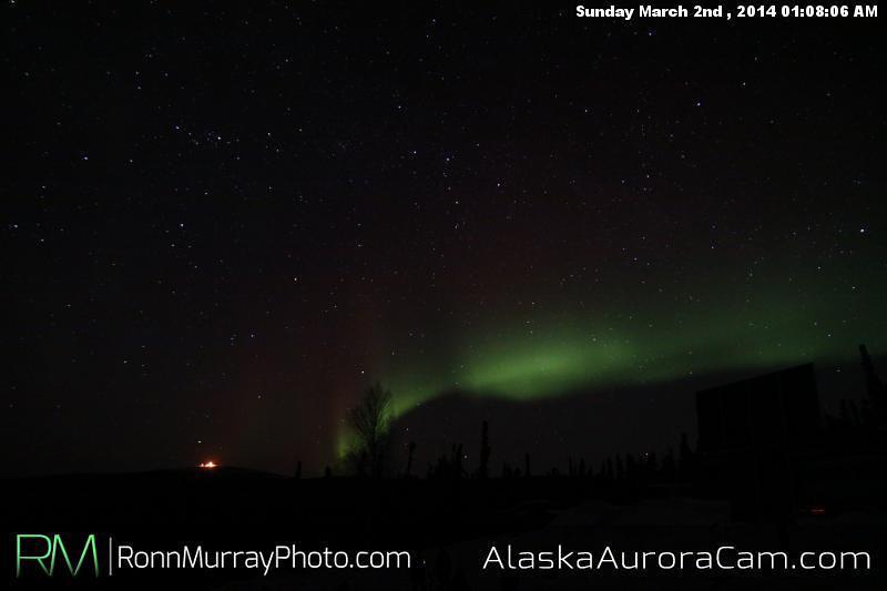 March 2nd - Alaska Aurora Cam