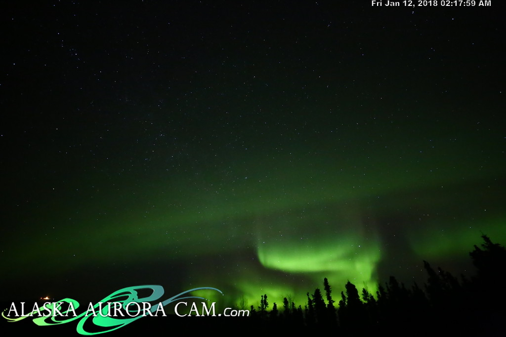 January 11th - Alaska Aurora Cam