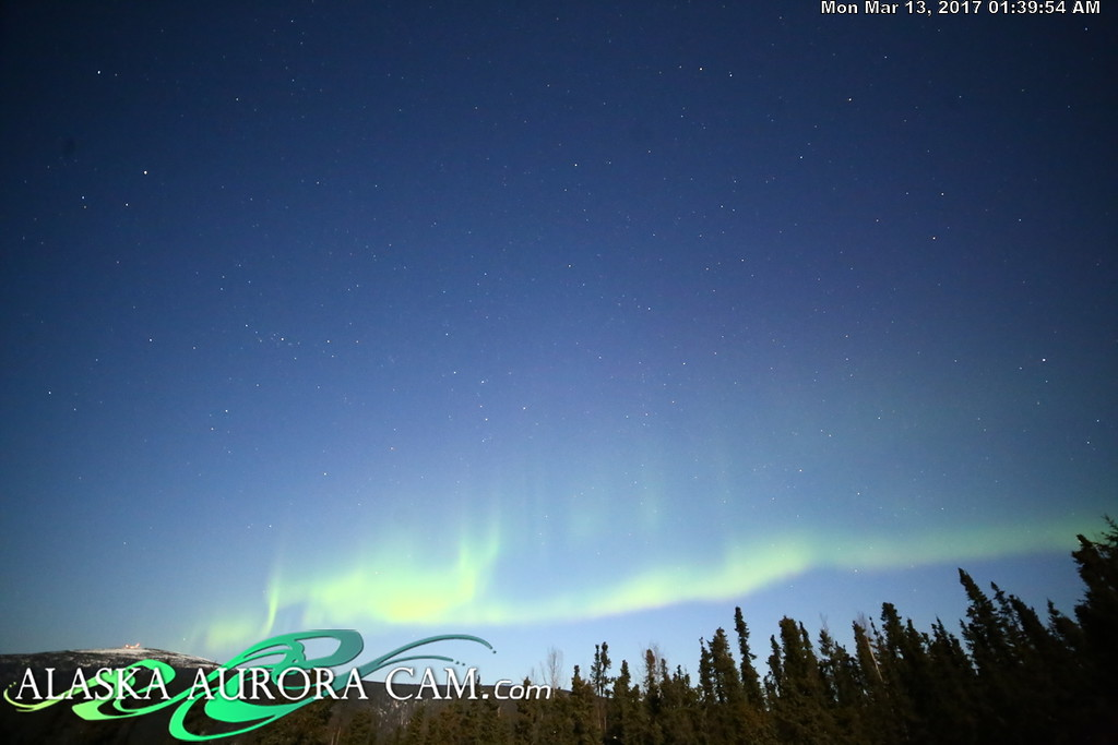 March 12th  - Alaska Aurora Cam