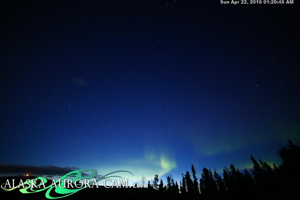 April  21st  - Alaska Aurora Cam