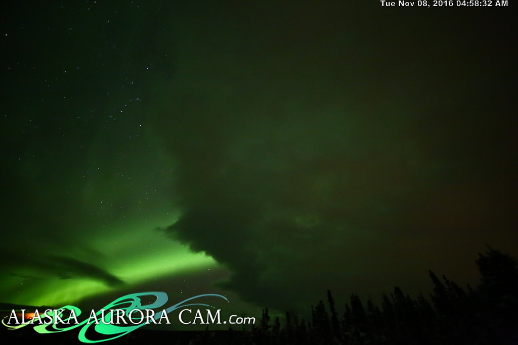 November 7th  - Alaska Aurora Cam