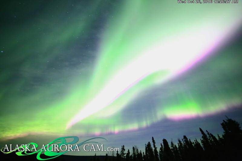 October 25th  - Alaska Aurora Cam