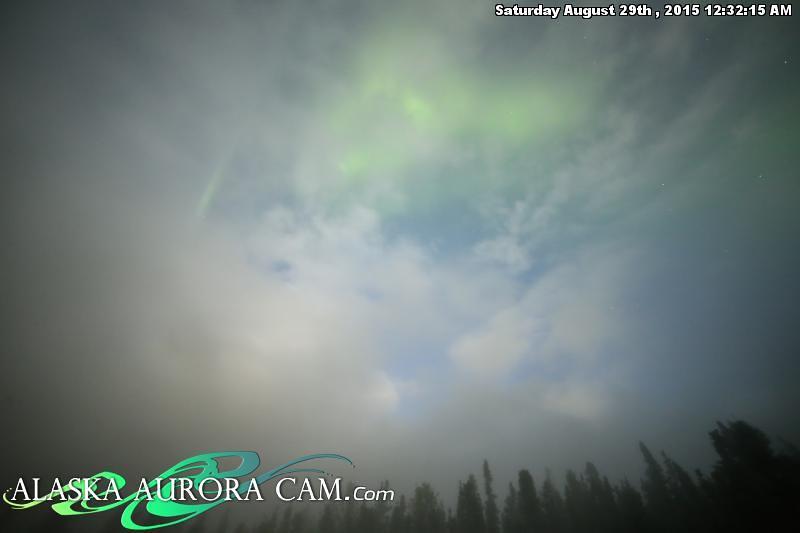 August  28th - Alaska Aurora Cam