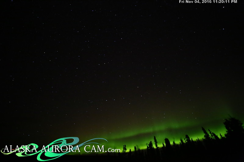 November 4th  - Alaska Aurora Cam