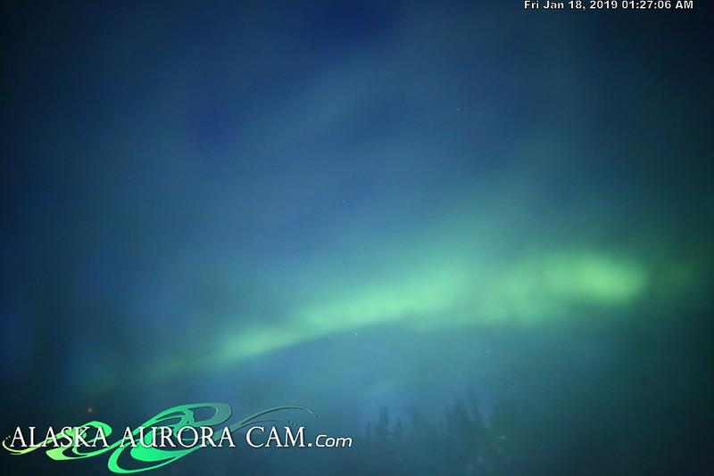 January 17th- Alaska Aurora Cam