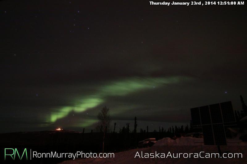 Jan 23rd, Alaska Aurora Cam