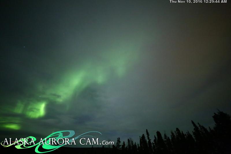 November 9th  - Alaska Aurora Cam