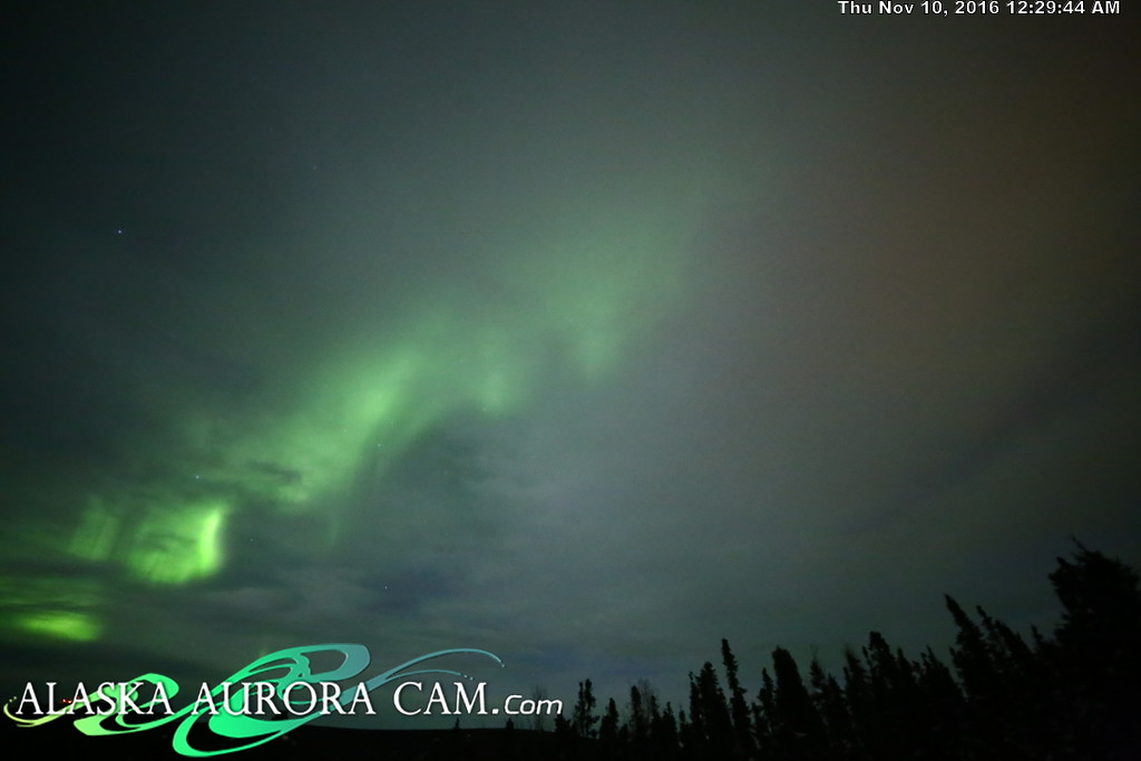 November 9th  - Alaska Aurora Cam