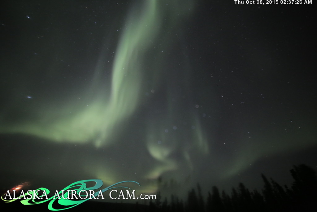 October 7th - Alaska Aurora Cam