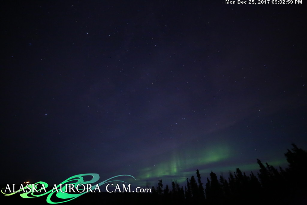 December 25th - Alaska Aurora Cam