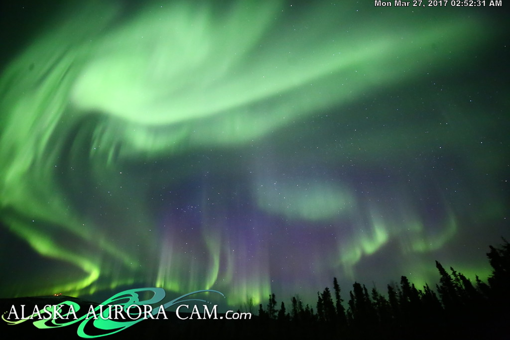 March 26th  - Alaska Aurora Cam