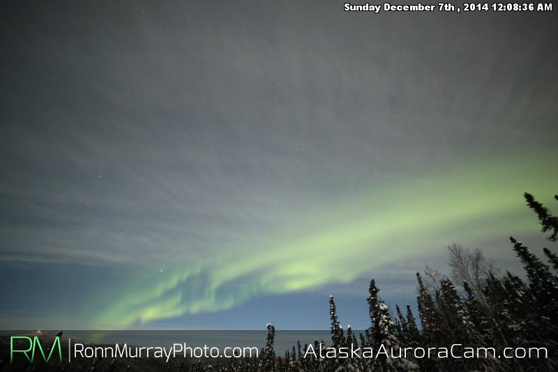 December 6th - Alaska Aurora Cam