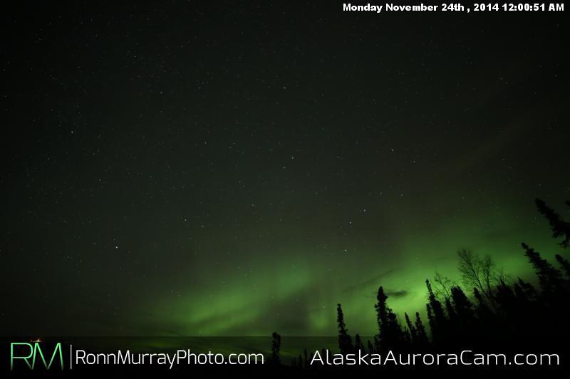 November 23rd - Alaska Aurora Cam