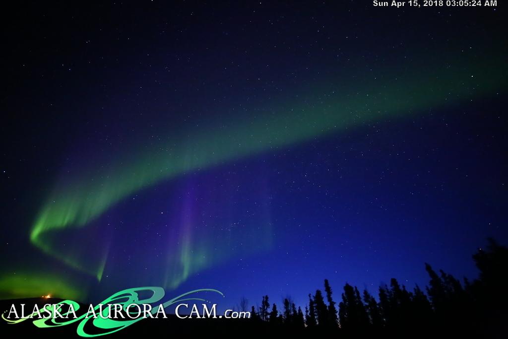 April  14th  - Alaska Aurora Cam