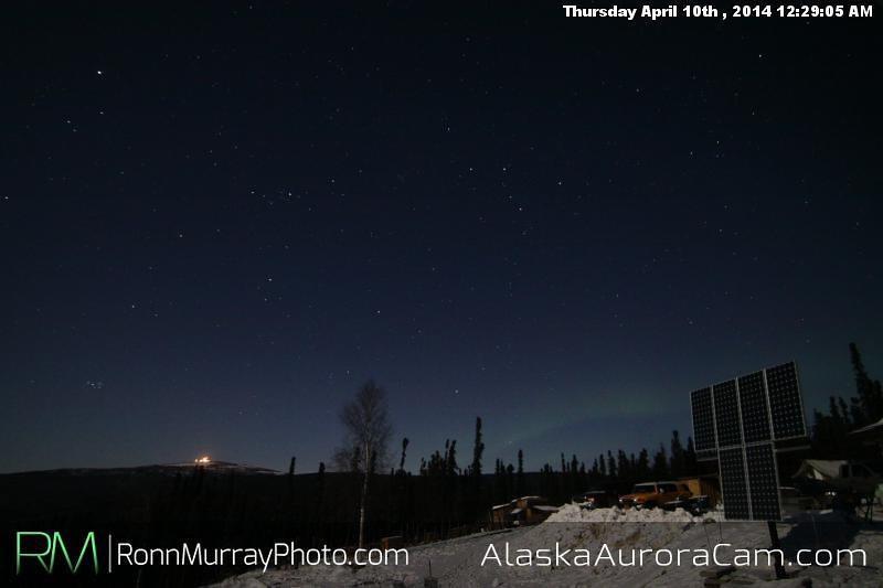 April 10th - Alaska Aurora Cam