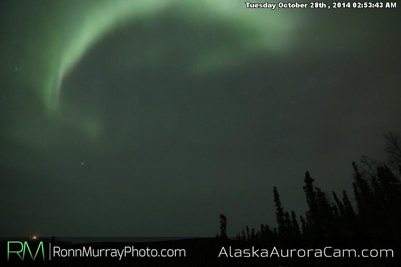 October 27th - Alaska Aurora Cam