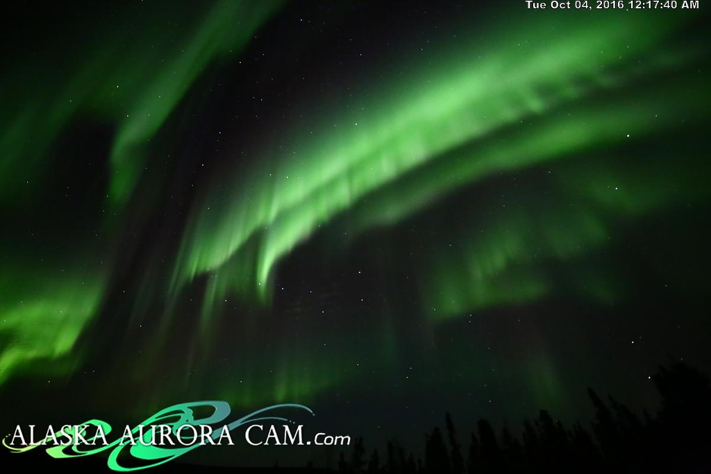 October 3rd - Alaska Aurora Cam