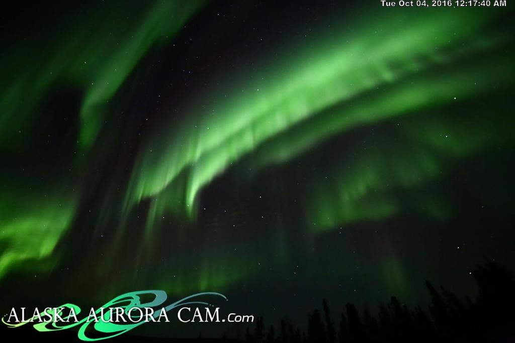 October 3rd - Alaska Aurora Cam