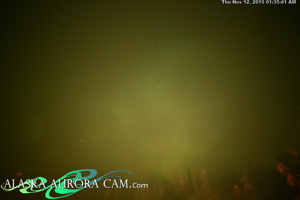 November 11th - Alaska Aurora Cam