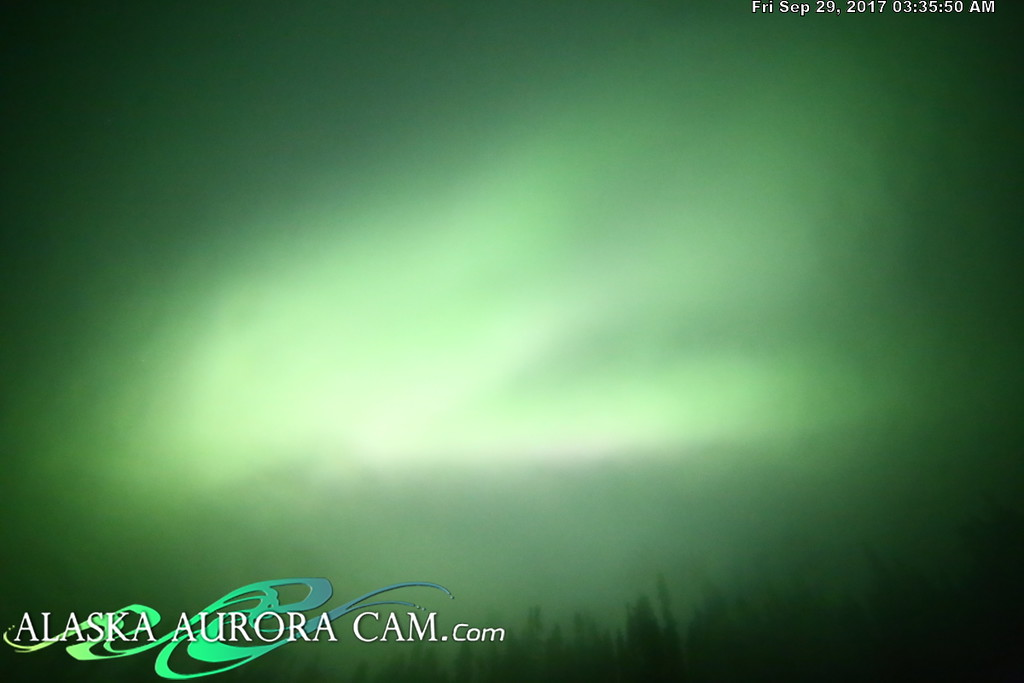 September 28th - Alaska Aurora Cam