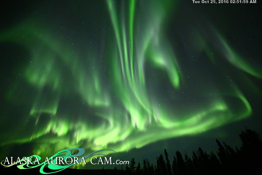 October 24th  - Alaska Aurora Cam