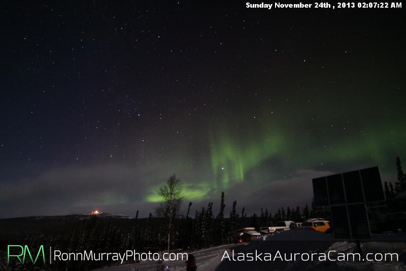 Better Late than Never - Nov 24th,  Alaska Aurora Cam
