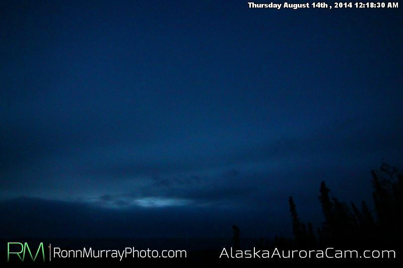 August 13th - Alaska Aurora Cam