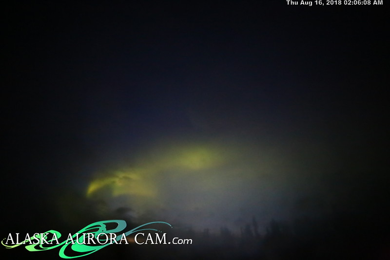 August 15th, 2018  - Alaska Aurora Cam