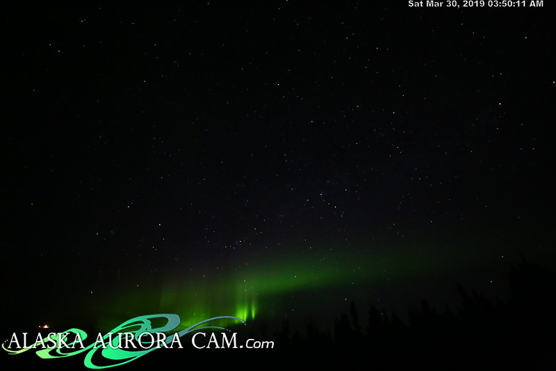 March 29th - Alaska Aurora Cam